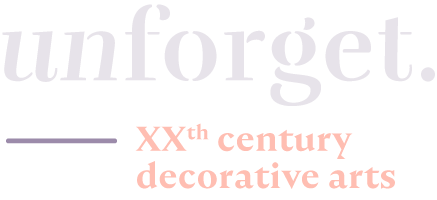 unforget.eu decorative arts gallery logo