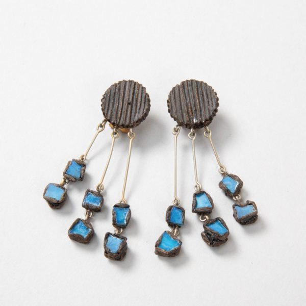 002Earrings Talosel Blue – Line Vautrin – Unforget_COC06_xx –