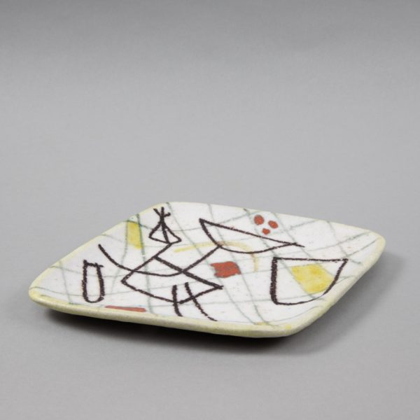 UC07_35 Ceramic freeform plate Guido Gambone – unforget -4_1100X1100