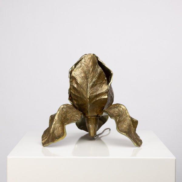 Lampe Iris bronze Maison Charles