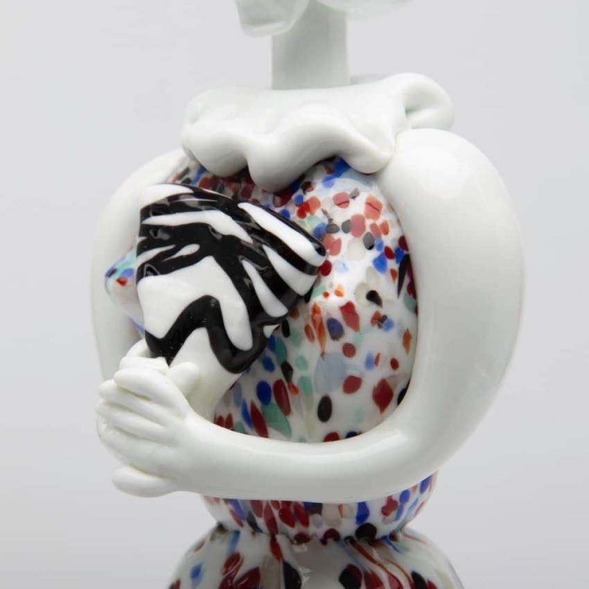 Pair of figurines Arlecchino and Arlecchina by Fulvio Bianconi-img02