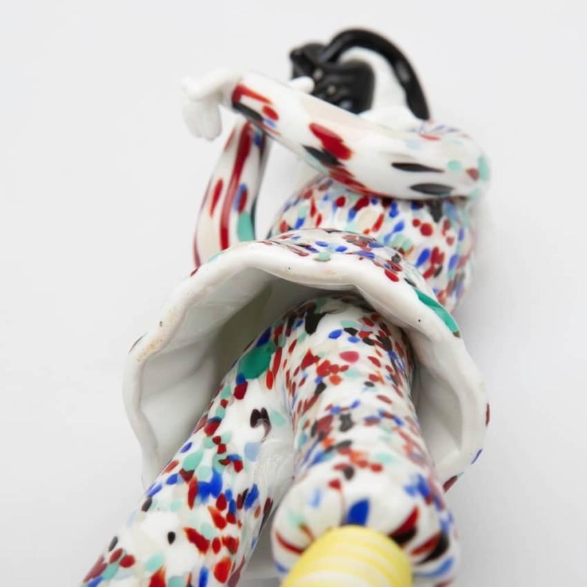 Pair of figurines Arlecchino and Arlecchina by Fulvio Bianconi-img10