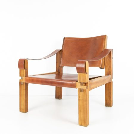 Leather Armchair by Pierre Chapo - img08