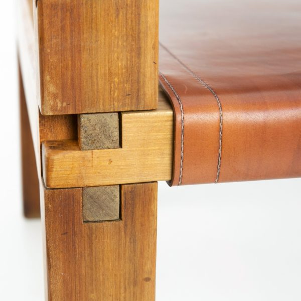 Leather Armchair by Pierre Chapo - img01