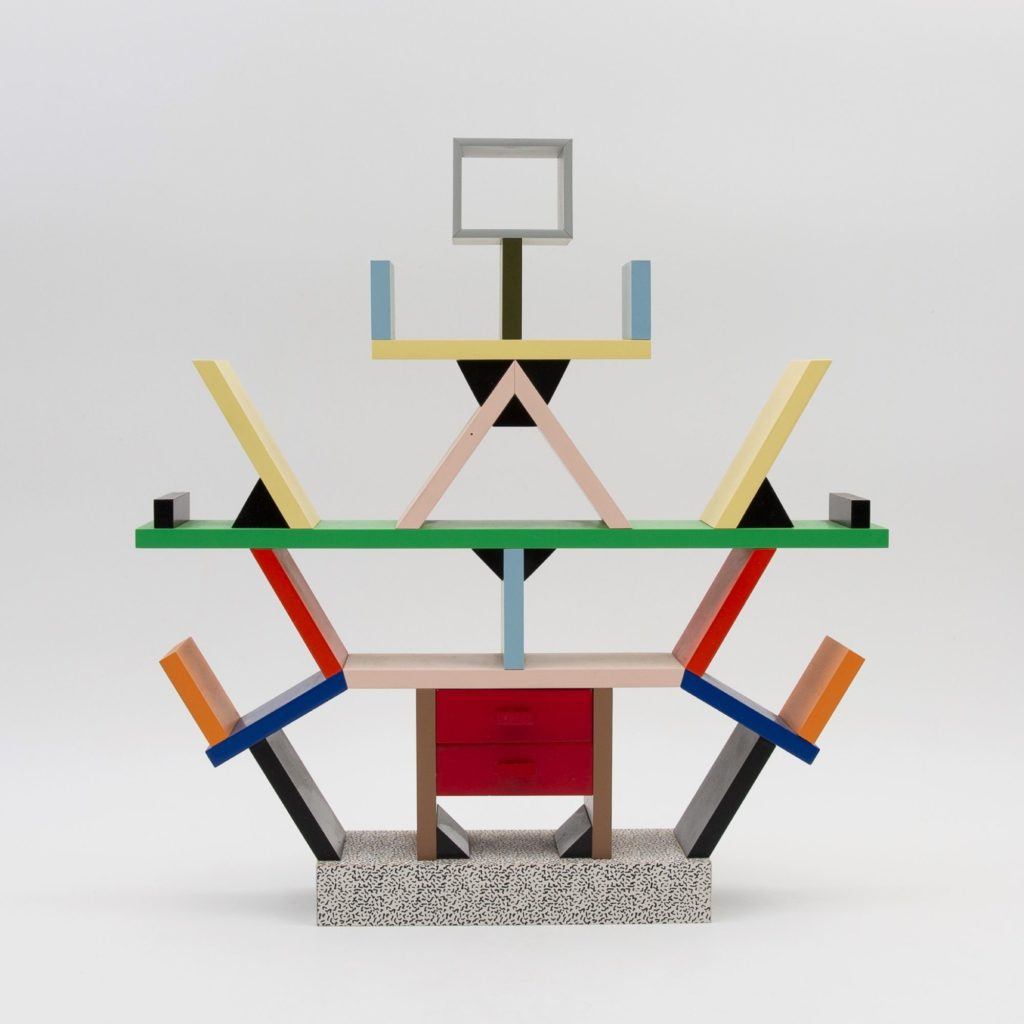 Miniature Carlton bookcase signed by Ettore Sottsass - img01