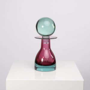 Large bottle with stopper by Mario Pinzoni - img08