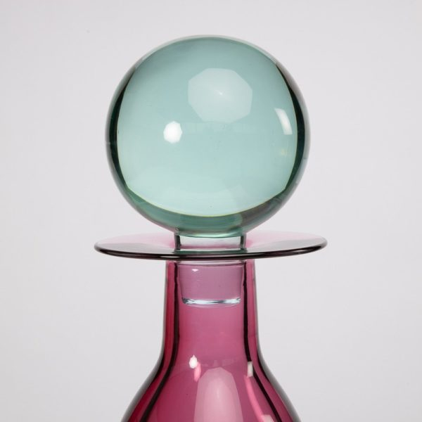 Large bottle with stopper by Mario Pinzoni - img04