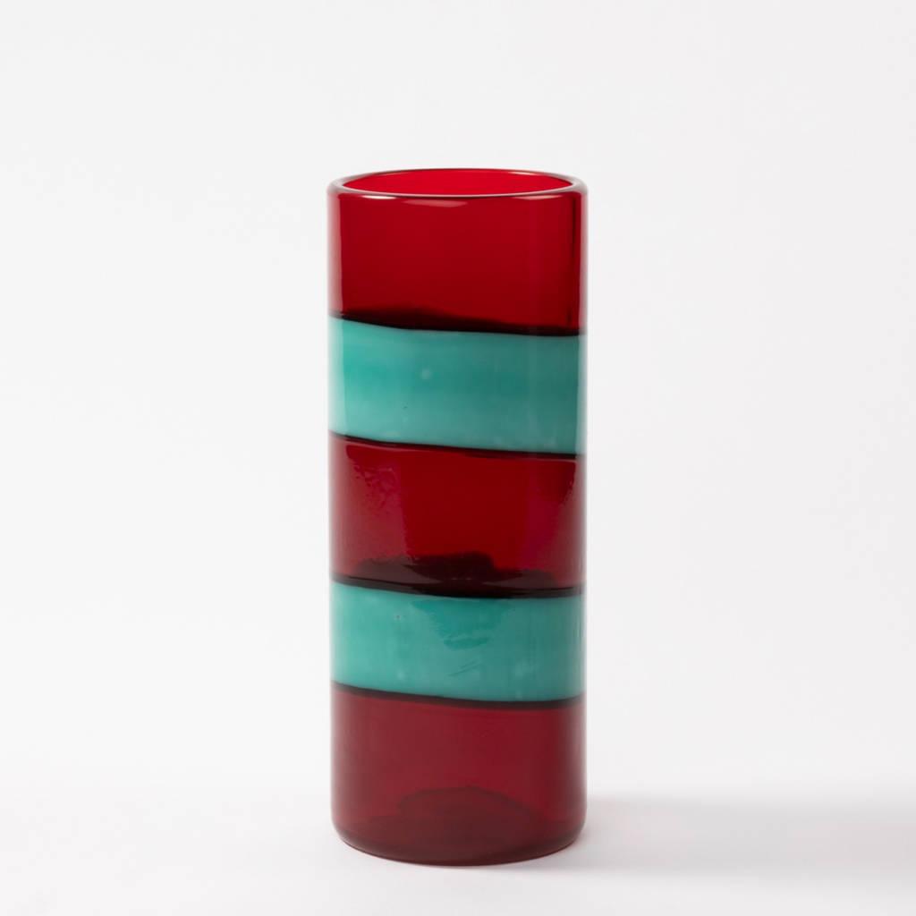 "A ""fasce"" Murano vase by Fulvio Bianco - img01"
