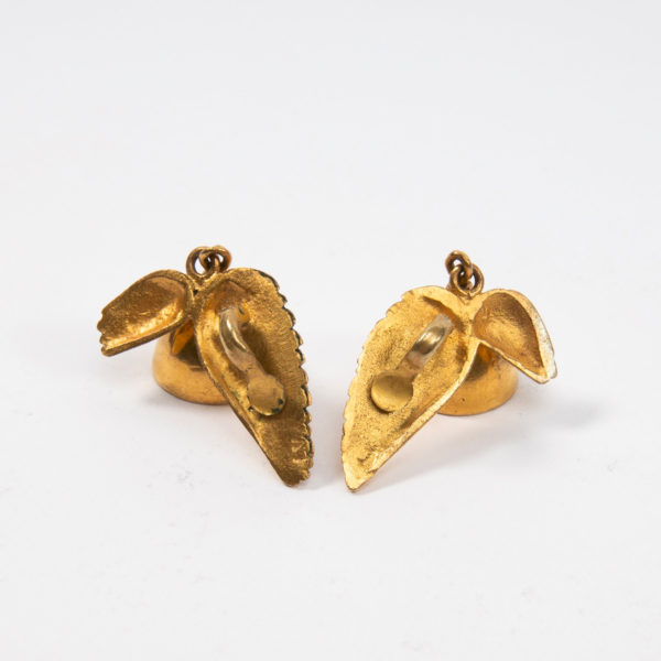 Les cloches ailées earrings by Line Vautrin Img06