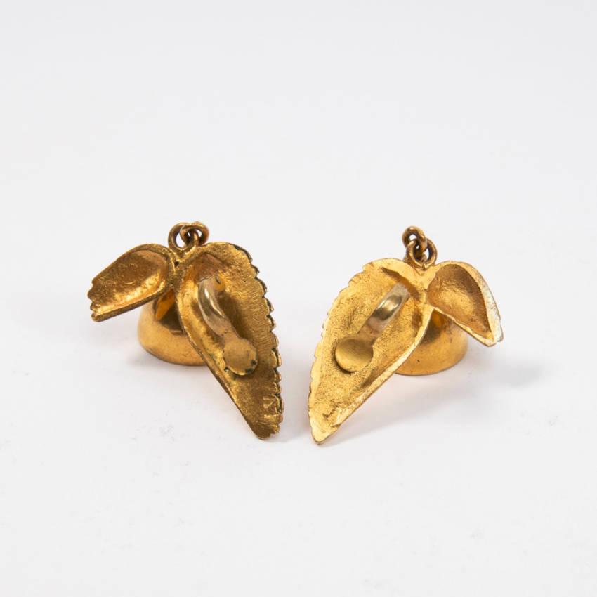 Les cloches ailées earrings par Line Vautrin Img06