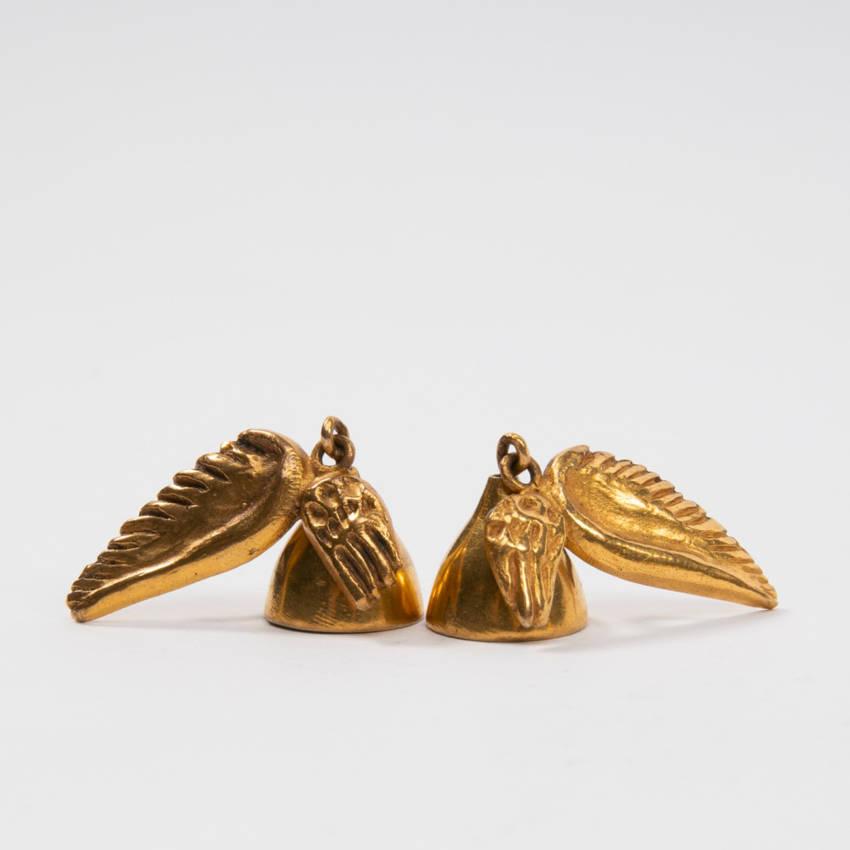 Les cloches ailées earrings par Line Vautrin Img02