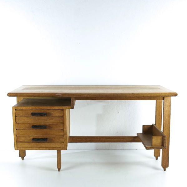 3-drawers oak desk Guillerme et Chambron Votre maison - img1