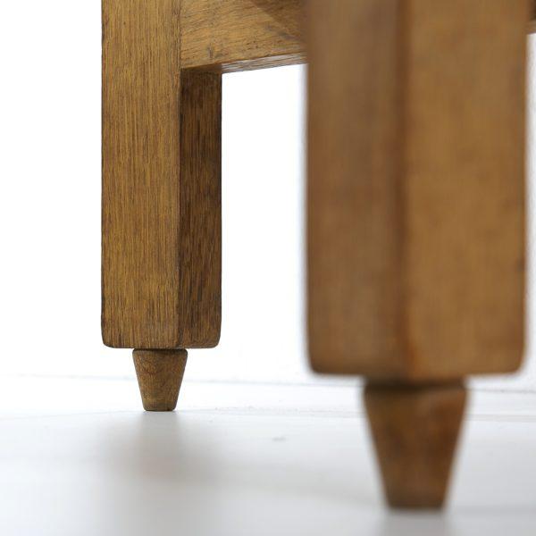 3-drawers oak desk Guillerme et Chambron Votre maison - img3