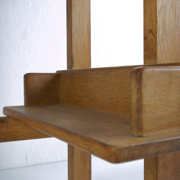 3-drawers oak desk Guillerme et Chambron Votre maison - img5