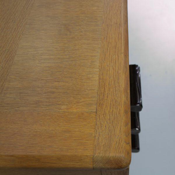 3-drawers oak desk Guillerme et Chambron Votre maison - img6