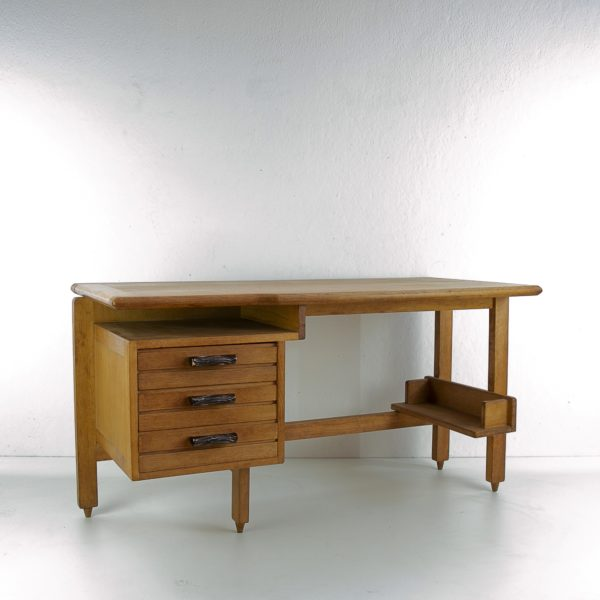 3-drawers oak desk Guillerme et Chambron Votre maison - img7