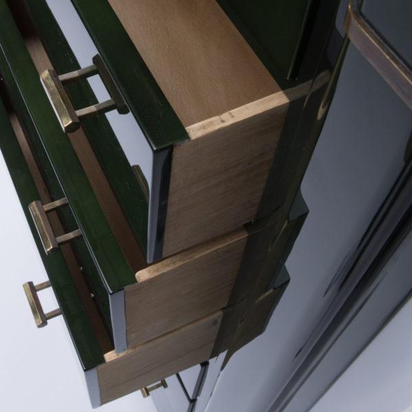 Dark green 7-drawer chest - Maison Ramsay - img02