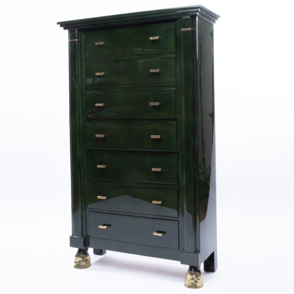 Dark green 7-drawer chest - Maison Ramsay - img05