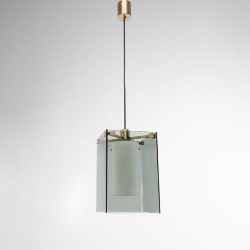 Pendant light Model 2211 Max Ingrand Fontana Arte Italy - 01