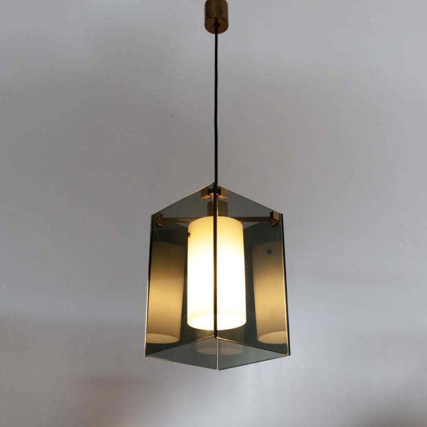 Pendant light Model 2211 Max Ingrand Fontana Arte Italy - 11