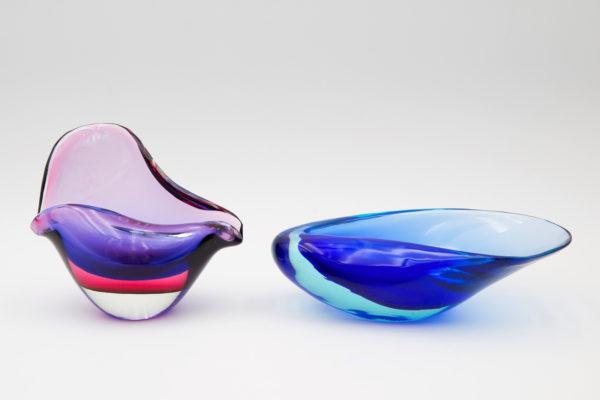 tricolor seashell dish By Flavio Poli - img01