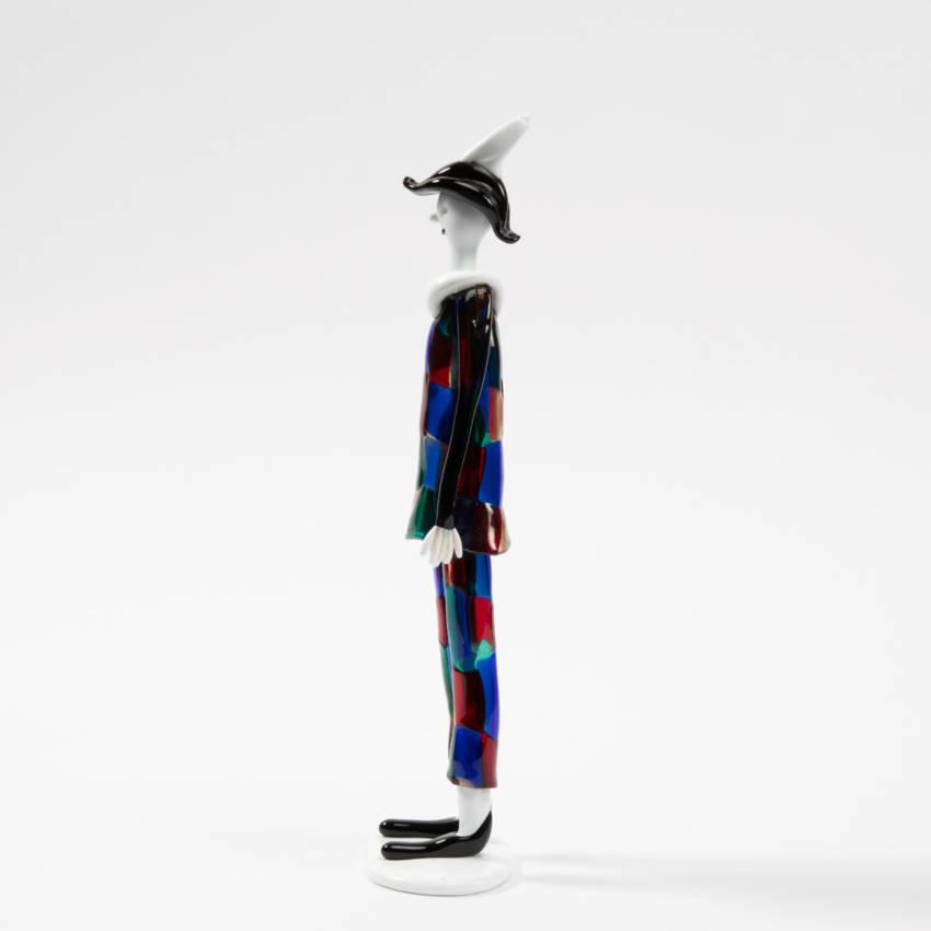 Harlequin with pezzato costume by Fulvio Bianconi - img10