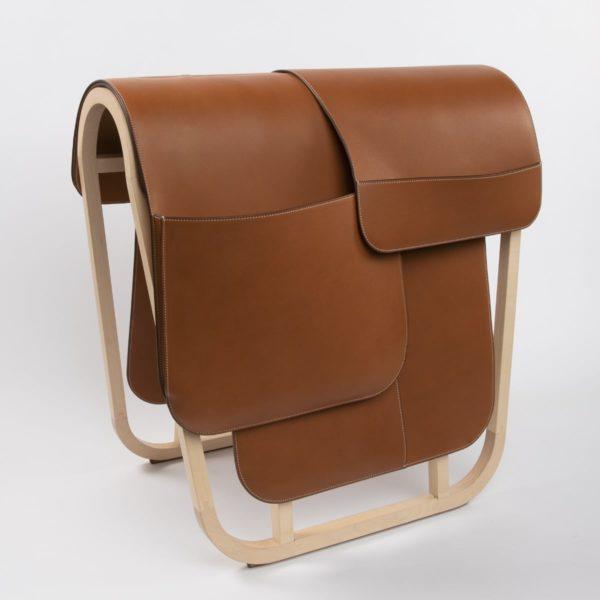 Magazine rack by Hermes - img07