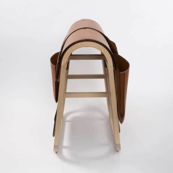 Magazine rack by Hermes - img06
