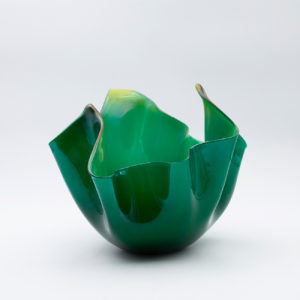 Fazzoletto green yellow by Fulvio Bianconi - img5