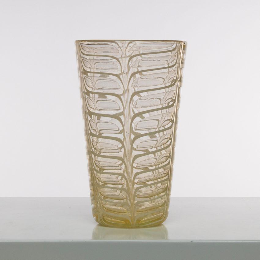 Graffito vase by Ercole Barovier -img06