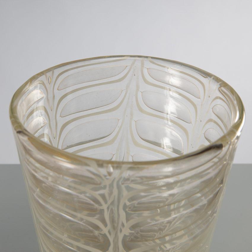 Graffito vase by Ercole Barovier -img07
