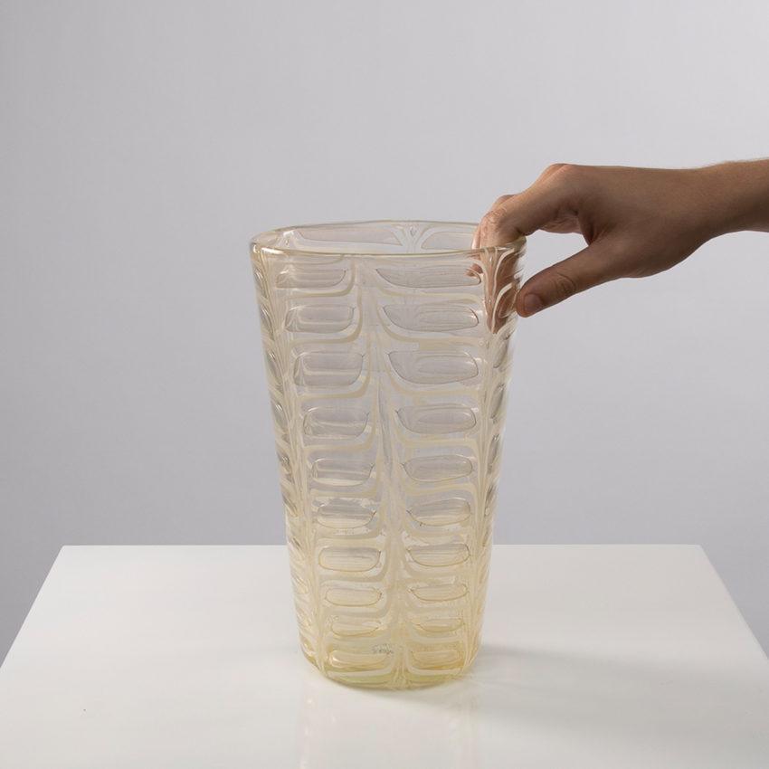 Graffito vase by Ercole Barovier -img01