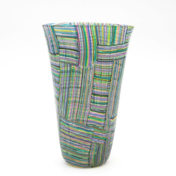 Mosaico Tessuto vase by Paolo Venini - img03