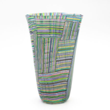 Mosaico Tessuto vase by Paolo Venini - img05