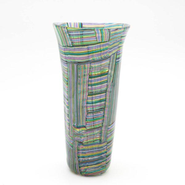 Mosaico Tessuto vase by Paolo Venini - img04