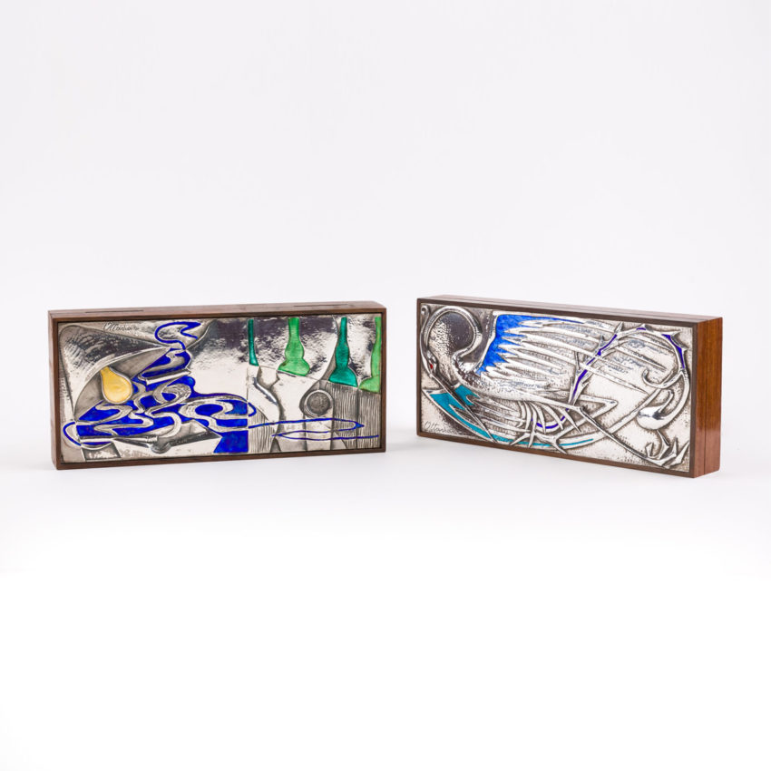 Rosewood and silver box by Ottaviani - img4