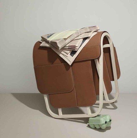 Magazine rack by Hermes - img03