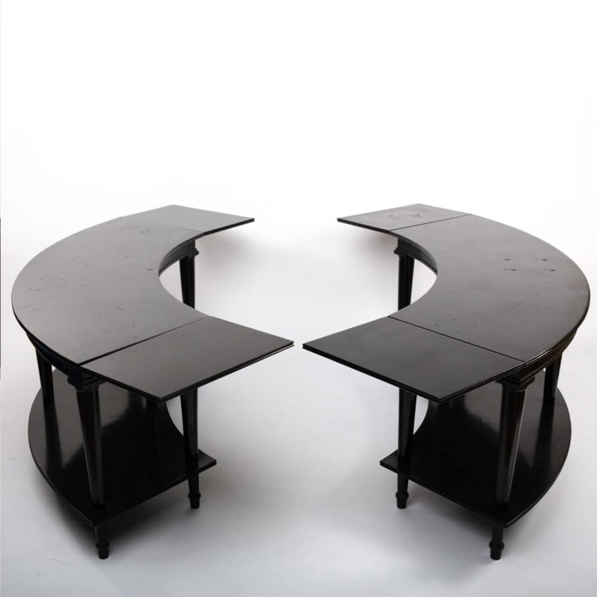 Pair of side tables by Madeleine Castaing - img01