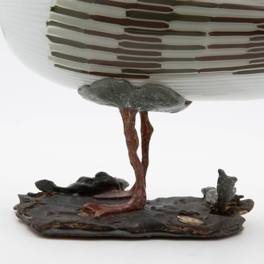 Seagull Glass Bird Venini Murano - Toni Zuccheri - Unforget_1310_24 -003
