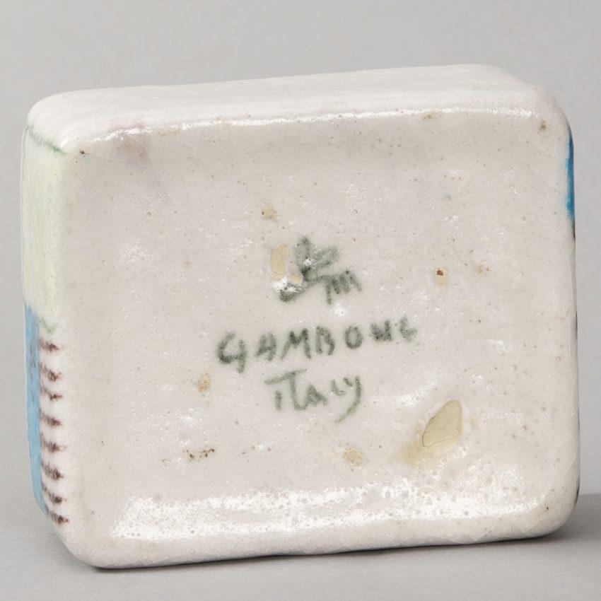Ceramic box by Guido Gambone - img06