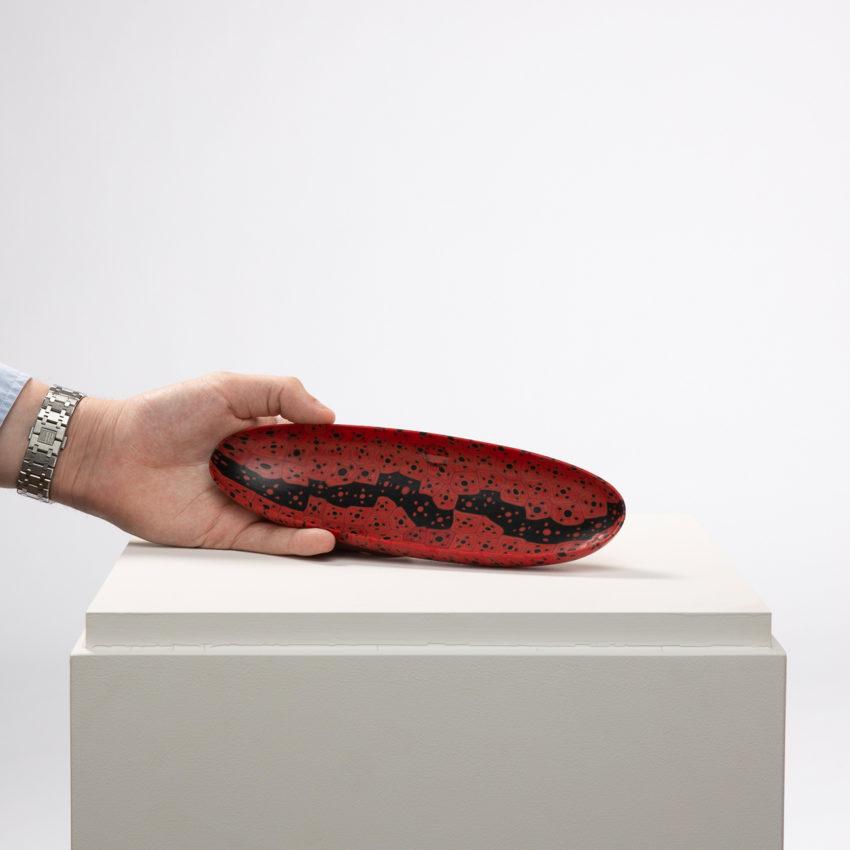 Murrine Opache canoe dish by Carlo Scarpa - img01