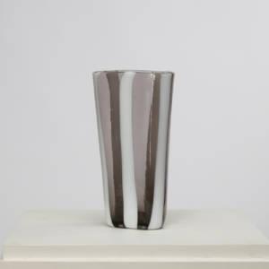 Fasce verticali glass vase Fulvio Bianconi Venini