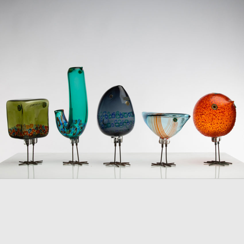 Set of five Pulcini by Alessandro Pianon - img03