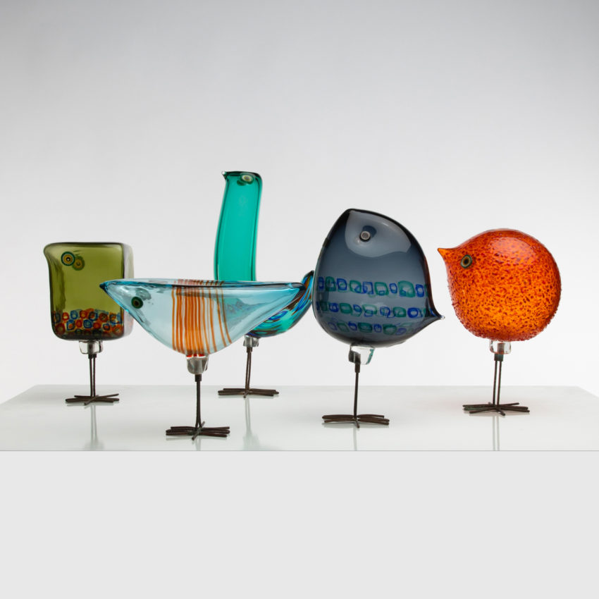 Set of five Pulcini by Alessandro Pianon - img01