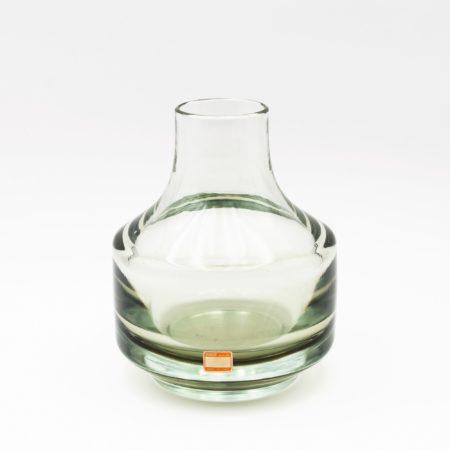 Vintage Murano blown glass vase by Mario Pinzoni - img4