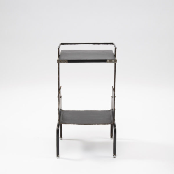 Wide side table by Jacques Adnet - img01