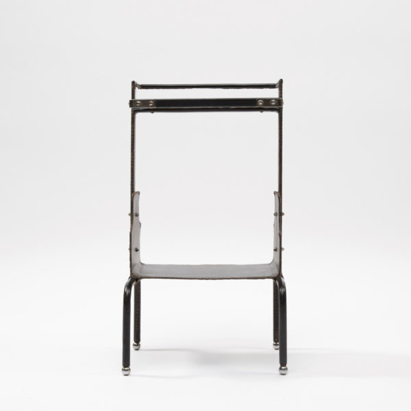 Wide side table by Jacques Adnet - img02
