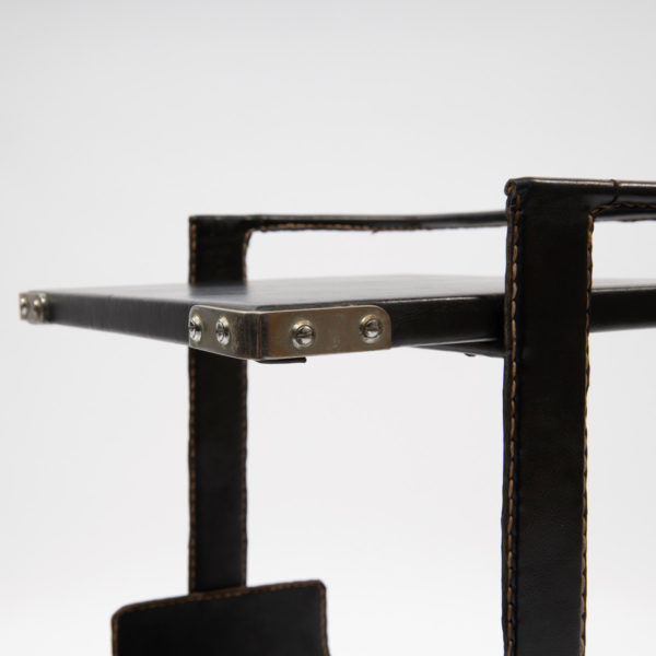 Wide side table by Jacques Adnet - img05
