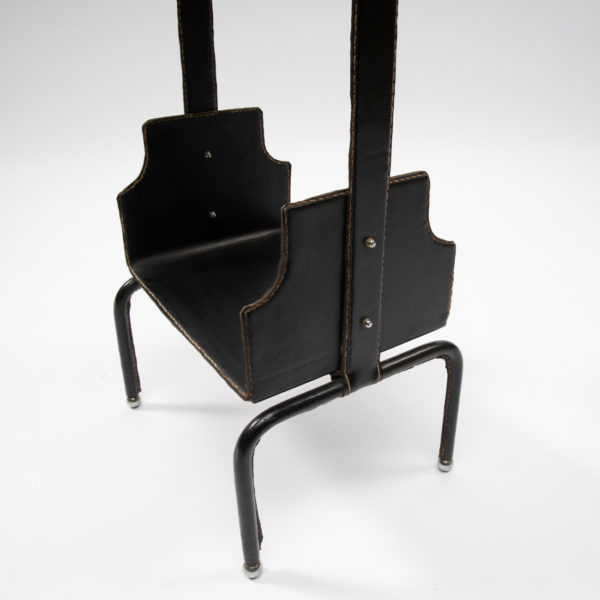 Wide side table by Jacques Adnet - img06