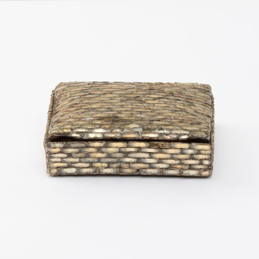 Talosel with incrusted mirrors box Line Vautrin - 5